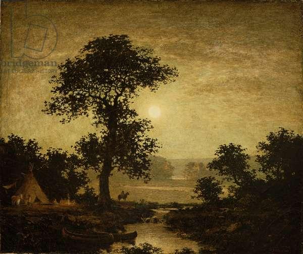 Moonlight, c.1885-89 (oil on canvas)