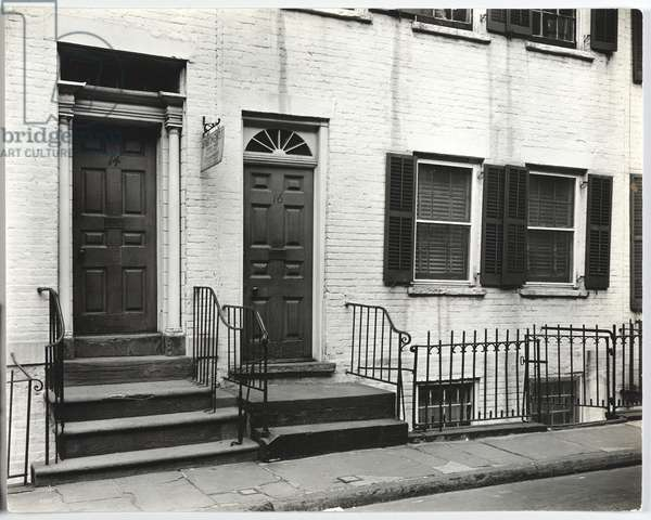 Gay Street #14-16, 1937 (gelatin silver photo)