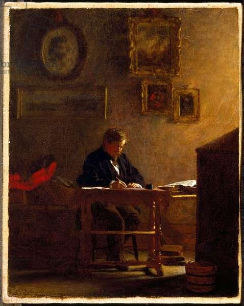 Self-Portrait, c.1865-70 (oil on canvas)