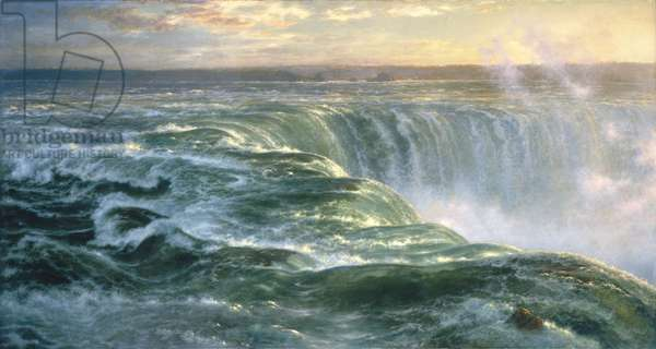 Niagara, 1866 (oil on canvas)