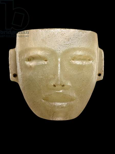 Mask, Teotihuacan (marble)