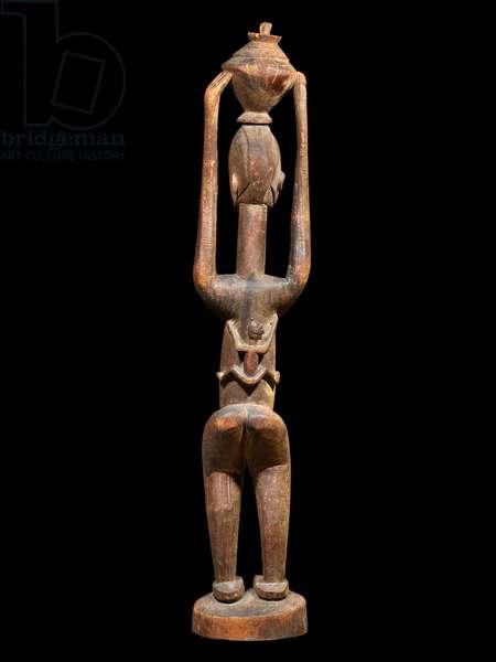 Standing Maternity Figure, Dogon, Mali (wood)
