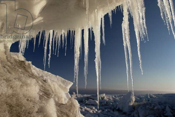 Icicles, June 1995 (photo)