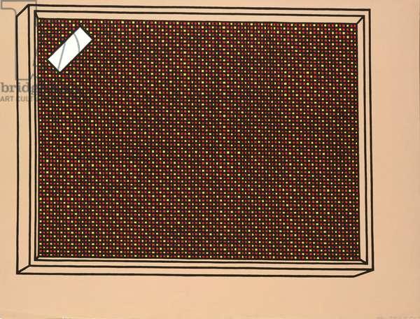 Loudspeaker, 1968 (screenprint)