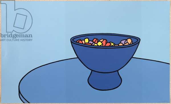 Sweet Bowl, 1967 (screenprint)