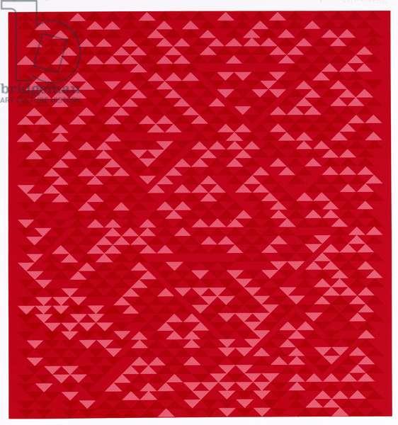 Camino Real, 1967-69 (screenprint on paper)