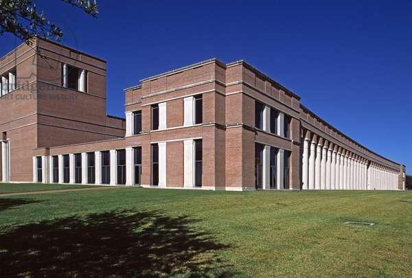 Shepard School of Music, Rice University in Houston, USA. Architect Ricardo Bofill, construction 1988.