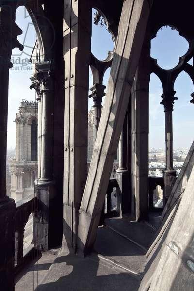 View of the Cathedrale Notre Dame de Paris