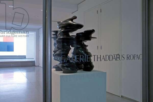 La Galerie Thaddaeus Ropac, 7 rue Debelleyme, Paris 3rd arrondisssement.