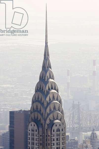 The Chrysler Building in Manhattan (New York, USA).