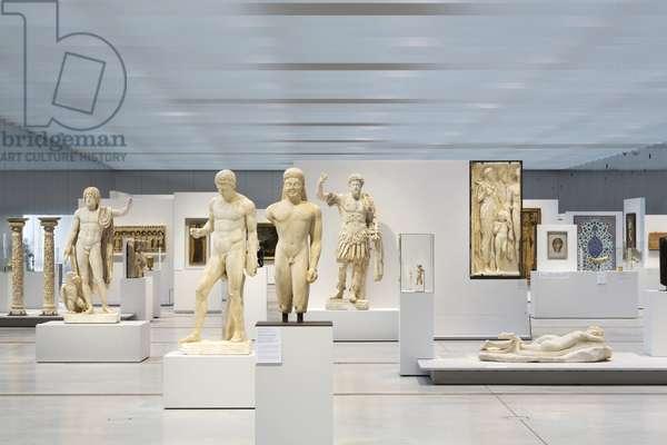 Greek, Etruscan and Roman Antiquities at the Galerie du Temps du Musee du Louvre-Lens - 2012, Kazuyo Sejima and Ryue Nishizawa - Sanaa Agency -