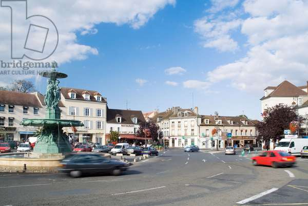 Place Saint Jean in Melun (Seine and Marne).