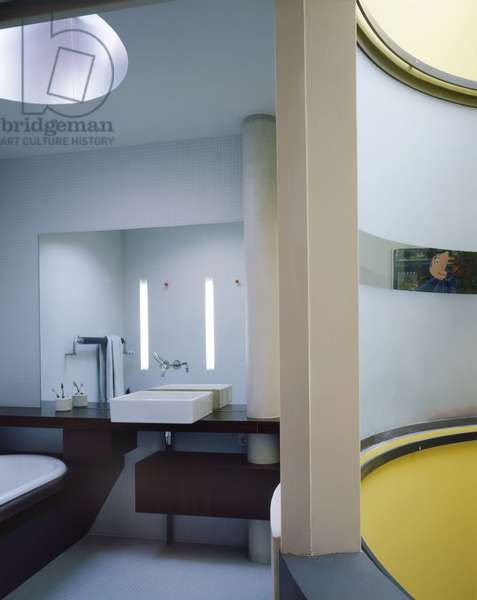 Maison Parisienne, Paris 75017. Architecture by Christophe Lab, 1999. Photography 1999