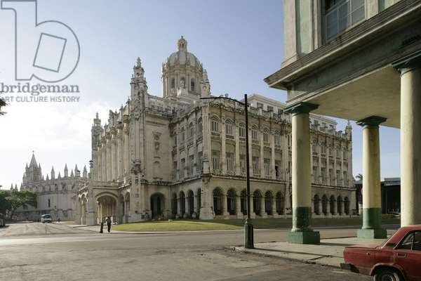 The Museum of the Revolution in Havana (Cuba).