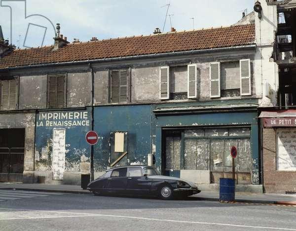 Mure building, rue de Tangier in Paris 19th.