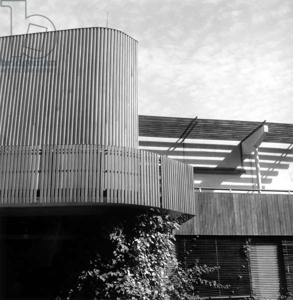 House Mairea in Normarkku in Finland. Construction 1938-1941, architect Alvar Aalto (1898-1976). This summer house is designed for industrial Harry Gullichsen, 150 km north of Turku and is an icon of contemporary architecture.