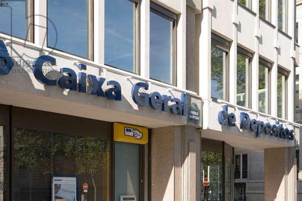 La Banque Caixa General de Depositos in Paris.