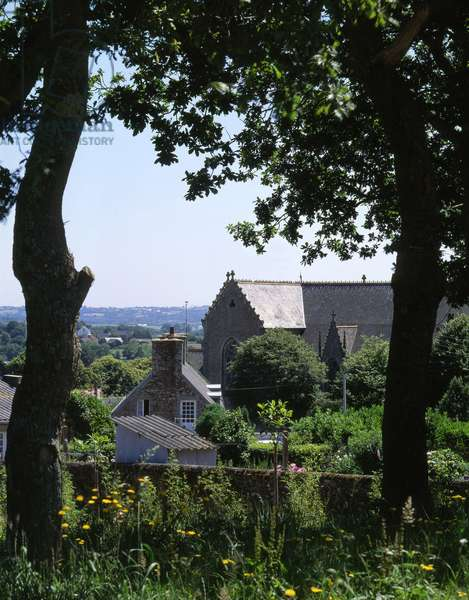 Le Foeil in Brittany, regional architecture (Cotes d'Armor)