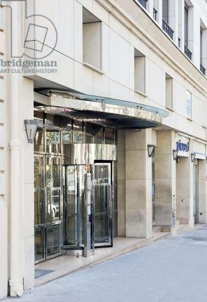 The bank Lehman Brothers in Paris.