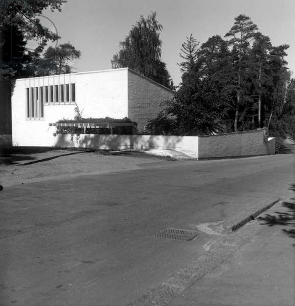 The architecture agency of Alvar Aalto in Munkkieniemi in Finland. architect Alvar Aalto, 1953-1955.