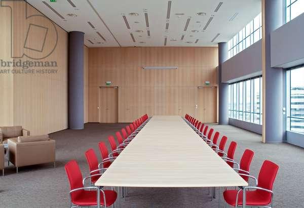 Dexia meeting room, Front de Seine, Paris.