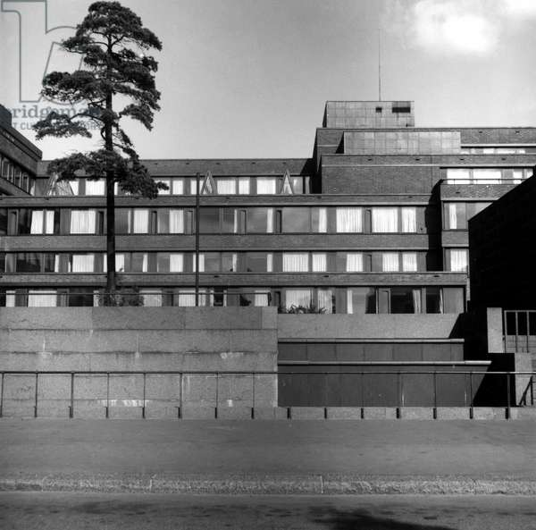 Pension fund in Helsinki, Finland.Architect Alvar Aalto, 1953-1957.