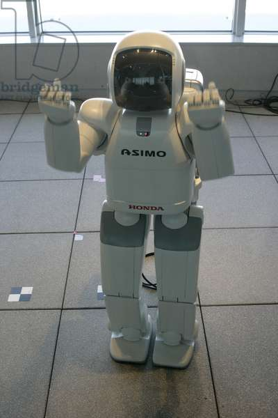 Robot in a tower of Roppongi, Tokyo (Japan).