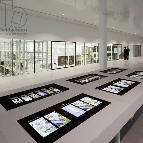 The reserves of the Louvre-Lens Louvre-Lens museum - 2012, Kazuyo Sejima and Ryue Nishizawa - Sanaa Agency -