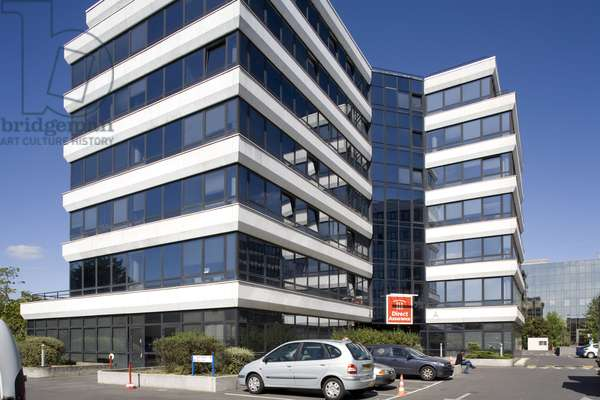 The head office of the company Directe Assurance, 163 -167 avenue Georges Clemenceau, Nanterre (Hauts de Seine). ©Sylvie Bersout//Artedia/Leemage Advertising subject to prior authorization