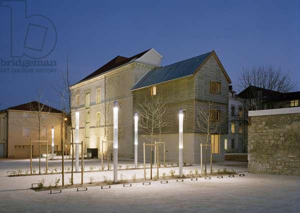 La maison diocesaine de Chalon en Champagne (Marne).