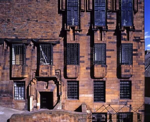 Glasgow Art School (Scotland). 1909, architect Charles Rennie Mackintosh (1868-1928). Photographic 15/02/01.