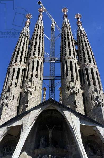 La Sagrada Familia in Barcelona (Spain) (photo)