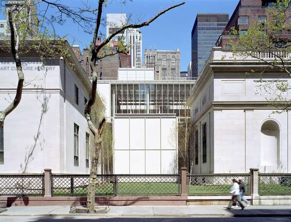 The Morgan Library, Madison Avenue in New York (United States). Architect Renzo Piano, 2003-2006. Photography 20/04/06.