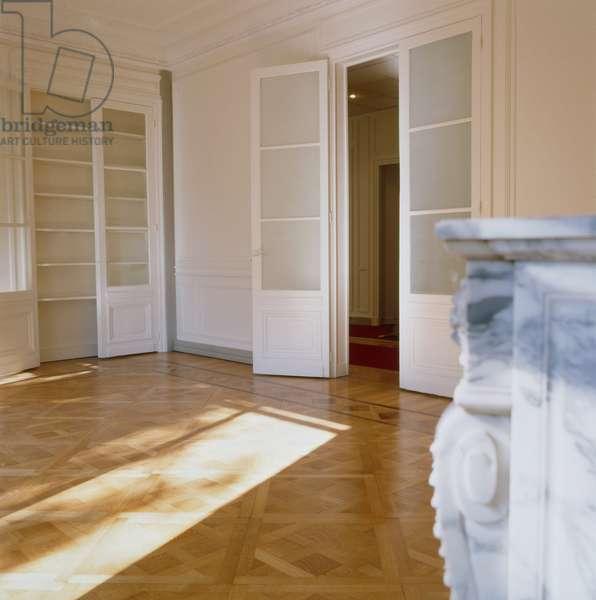 Interior of a Haussmann building in Paris