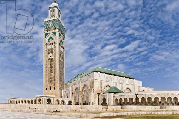 The Mosquee Hassan II in Casablanca, Morocco. Architect Michel Pinseau, 1986-1993. Photography 23/05/07.
