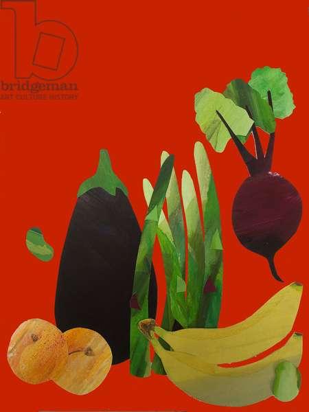 Veggies & fruit,2020,(cutout)