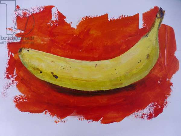 Banana,2019,(acrylic)