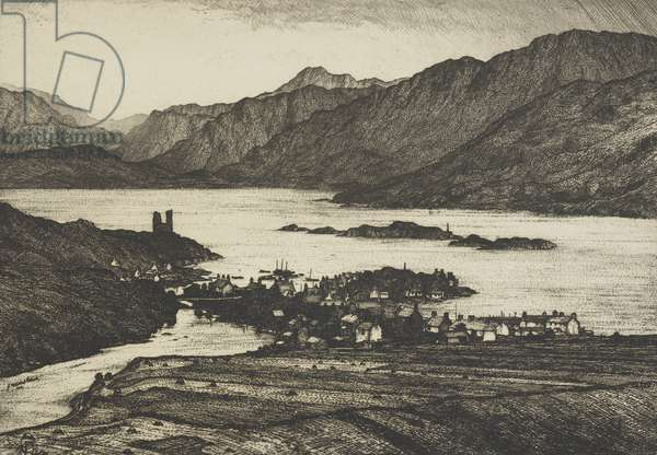 Kyleakin (etching)