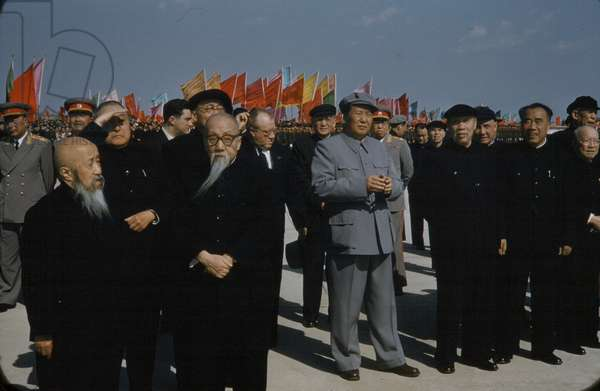 Chairman Mao, China, 1957-59 (photo)