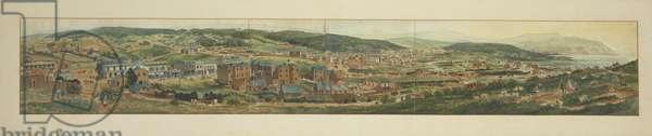 View of Dunedin, 1867 (w/c on paper)