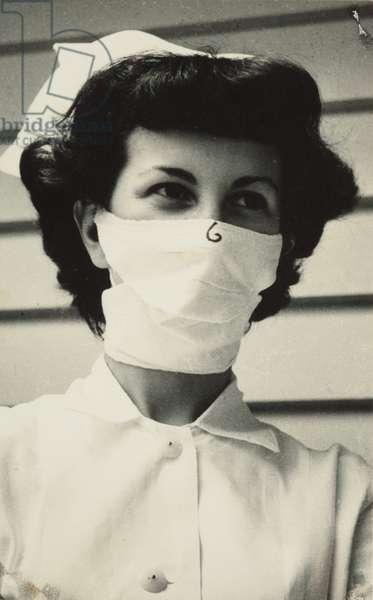 Nurse, Whangarei Hospital, 1953 (gelatin silver print)