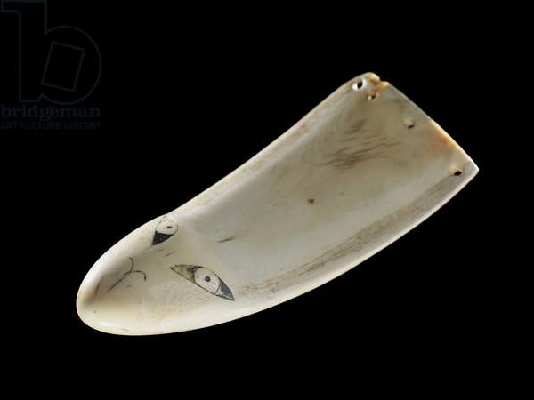 Niho Rei Paraoa, pendant, 1500-1850 (sperm whale tooth)