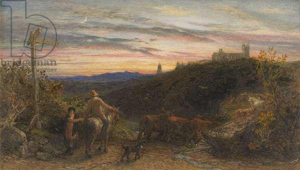 The good farmer, 1865 (w/c & gouache on paper)