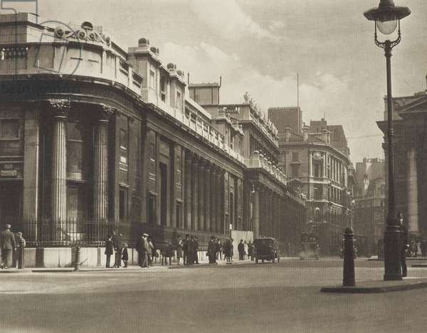Princes Street Corner, 1920s (b/w photo)