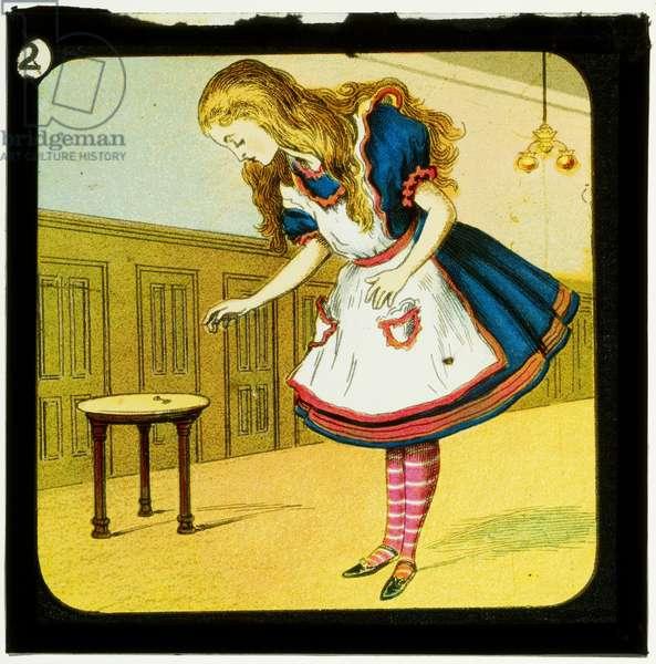 Alice in Wonderland, Part 1 - Down the Rabbit Hole, c.1900 (colour slide)