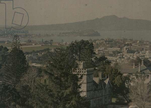 From Mount Eden, 1913 (photo)
