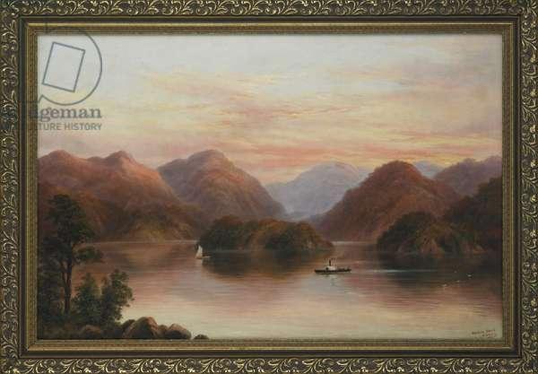 Pelorus Sound (oil on canvas)