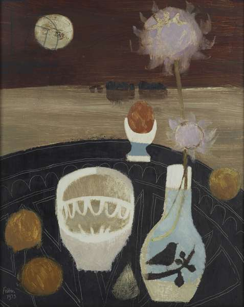 The Boiled Egg, 1973 (oil on board)