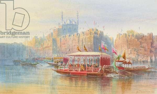 Benares, 1870-71 (w/c & gouache on paper)