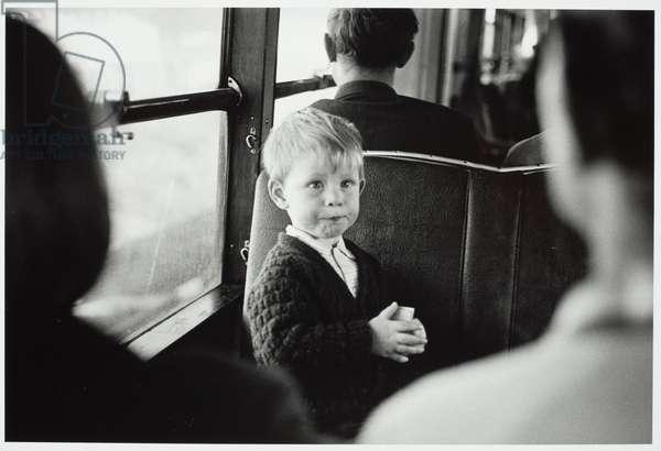 Hutt Valley train, Hutt Valley, 1968 (gelatin silver print)